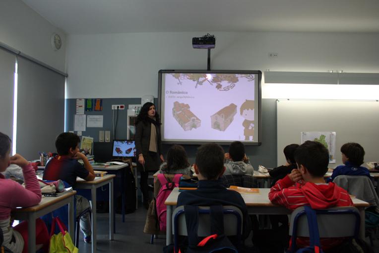 """Projeto Pedagógico """"O românico no território do Tâmega e Sousa"""", em Felgueiras"""