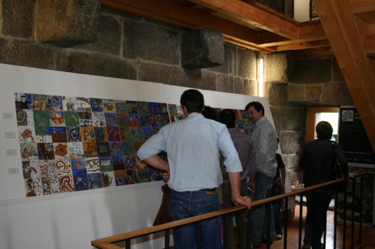 """Projeto Pedagógico """"A Pintura Mural na Rota do Românico"""", em Lousada"""