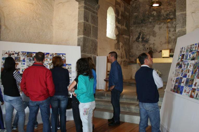"""Projeto Pedagógico """"A Pintura Mural na Rota do Românico"""", em Felgueiras"""