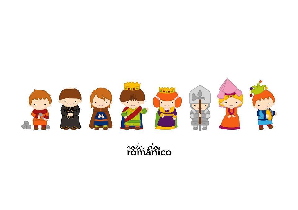 Pequenos Heróis da Rota do Românico
