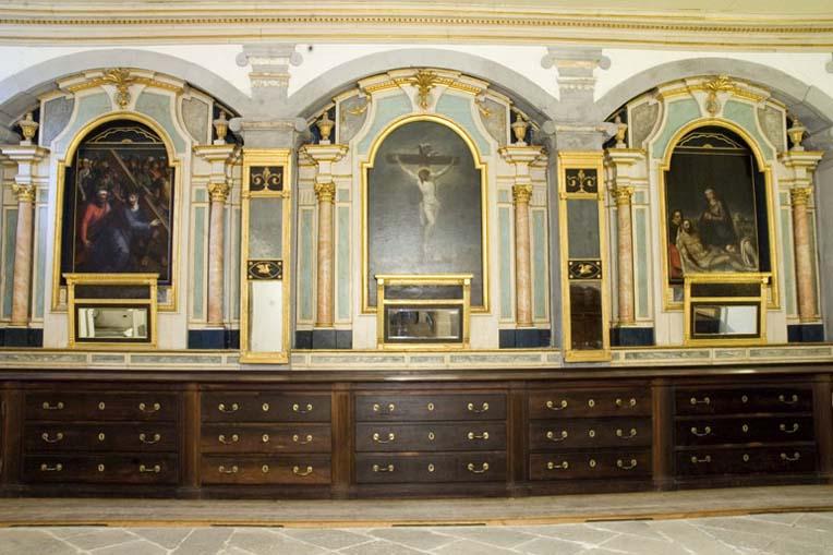 Sacristia do Mosteiro de Santa Maria de Pombeiro