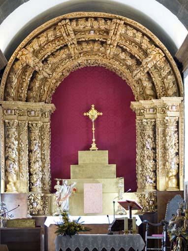 Retábulo principal da Igreja do Salvador de Unhão
