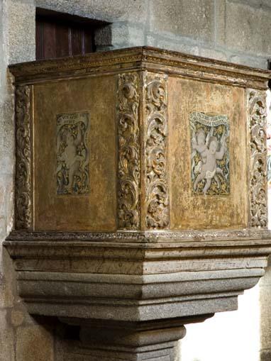 Púlpito da Igreja do Salvador de Unhão