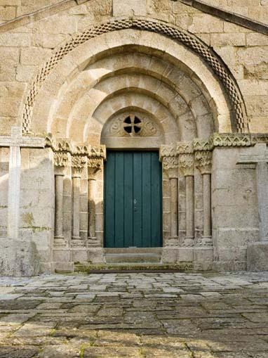 Portal da Igreja do Salvador de Unhão