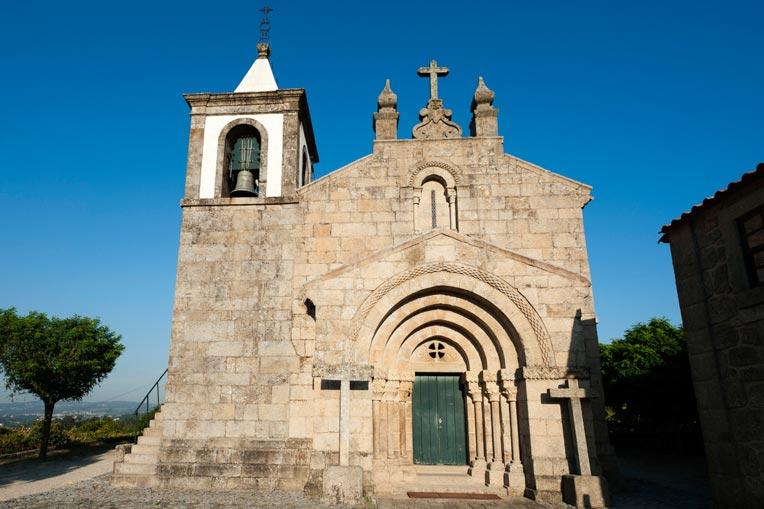 Fachada principal da Igreja do Salvador de Unhão