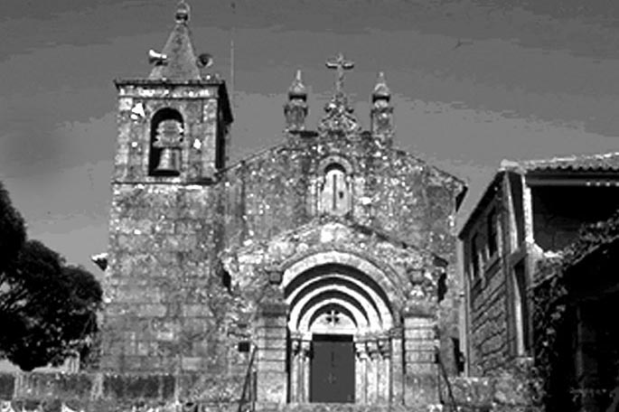 Igreja do Salvador de Unhão no passado