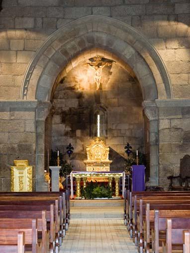 Arco triunfal da Igreja de Santa Maria de Airães