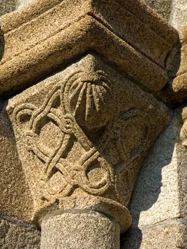 Capitel da Igreja de Santa Maria de Airães