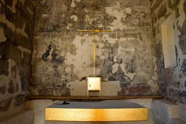Capela-mor da Igreja de São Mamede de Vila Verde