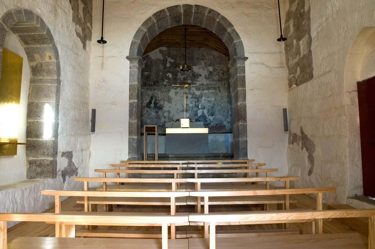 Interior da Igreja de São Mamede de Vila Verde
